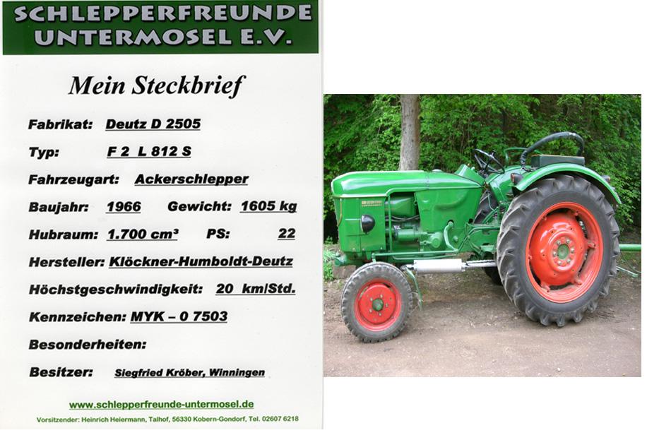 Kröber Deutz D 2505
