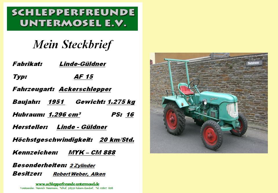 Weber Linde Güldner AF 15