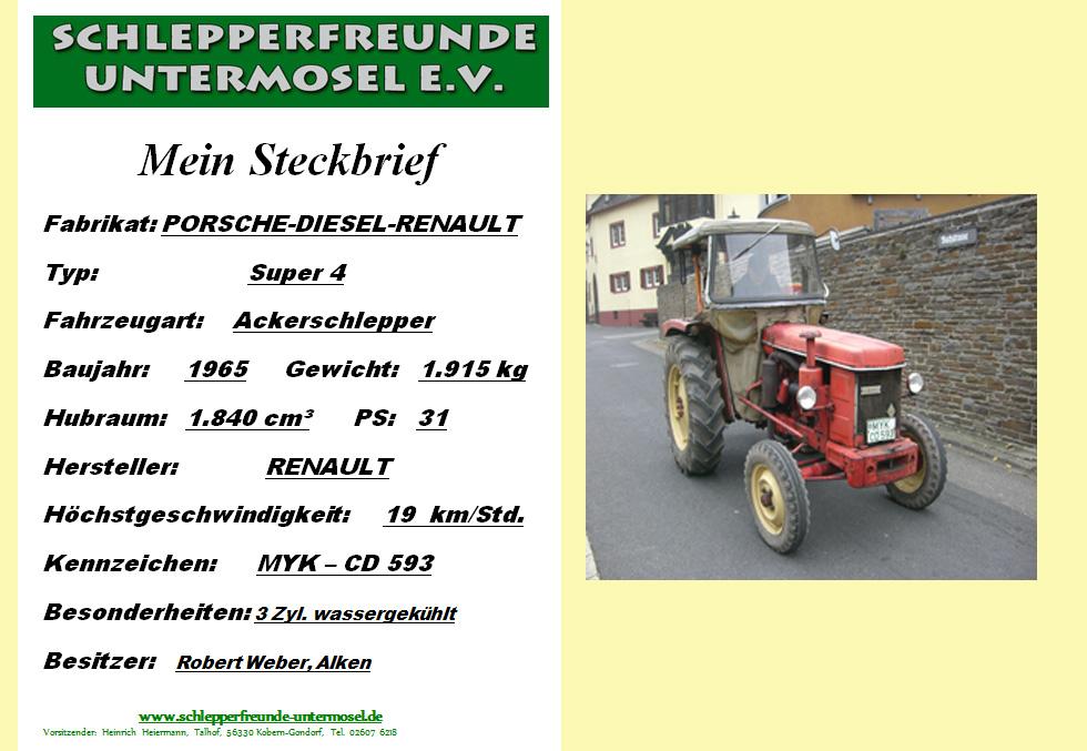 Weber Porsche Super 4